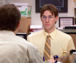 dwight schrute, jim halpert, and john krasinski image