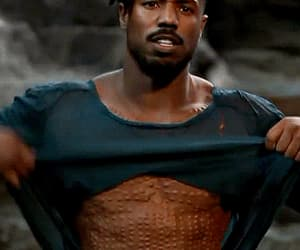 black panther, black america, and gif image