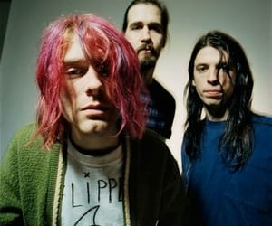 nirvana, singer, and rock image