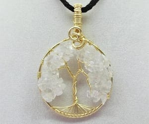 etsy, artisan jewelry, and tree necklace image
