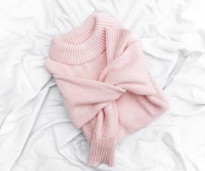 clothes, pink, and sweater image
