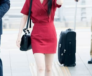 kpop, airport fashion, and iu image