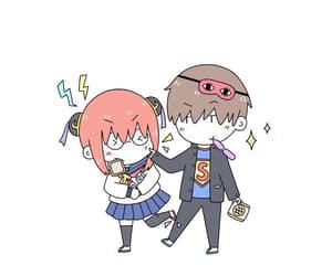 anime, okita, and gif image
