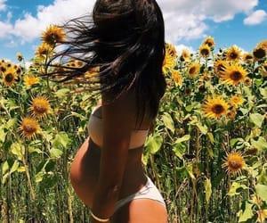 girassol, grávida, and summer image