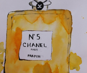 art, chanel, and chanel no. 5 image
