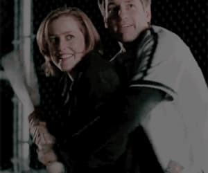 gif, mulder, and scully image