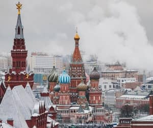 kremlin, moscow, and Red Square image