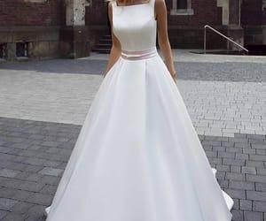 Blanc, dress, and white image