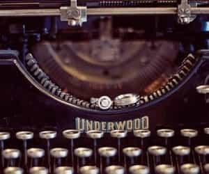 antique, soul, and typewriter image