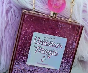 unicorn, bag, and pink image
