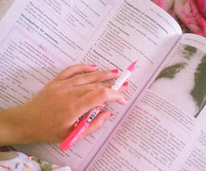 book, school, and study time image