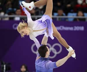 athletes, dance, and olympics image