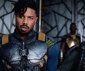 Avengers, killmonger, and black panther image