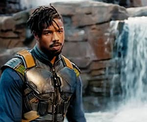 black panther, gif, and Hot image