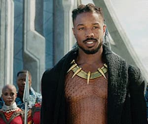 black panther, gif, and handsome image