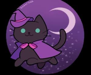 Halloween, witch, and neko atsume image