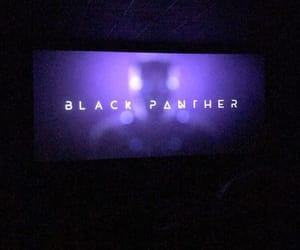 black, black panther, and Chadwick image