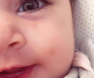baby, cute baby, and eyes image