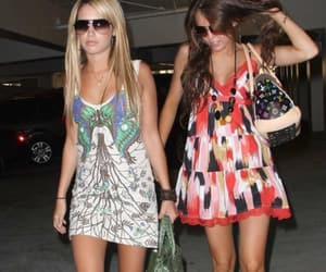 ashley tisdale and miley cyrus image