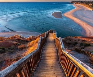 beach, sea, and australia image
