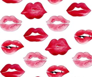 wallpaper, background, and lips image