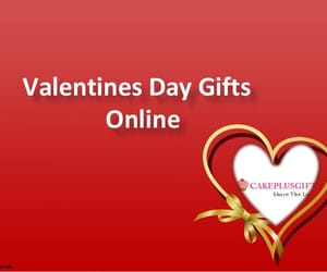 valentines day and valentine gifts online image