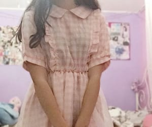 dress, lolita, and pastel image