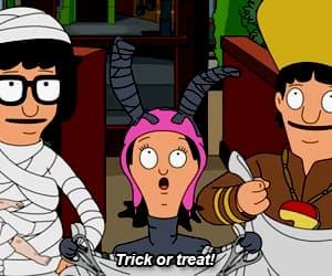 gif, Halloween, and bobs burgers image