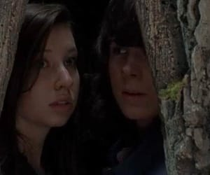 carl, walkers, and dead image