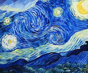 gif, van gogh, and loving vincent image