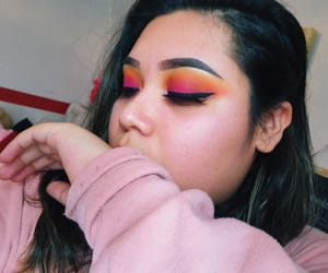 eyeshadow, heart it, and pink image