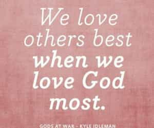 god and love image