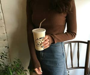 brown, style, and clothes image