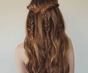 hair, hairstyle, and romantic image