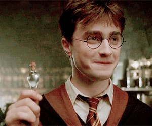gif, liquid luck, and harry potter image