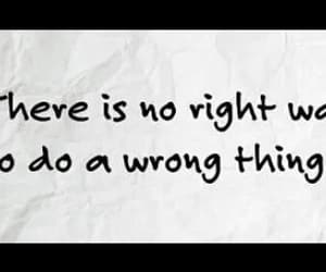 meaningful, Right, and wrong image