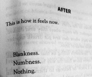 nothing, numbness, and blankness image