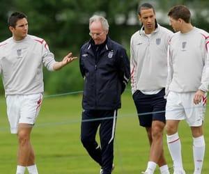 Frank Lampard, Steven Gerrard, and rio ferdinand image