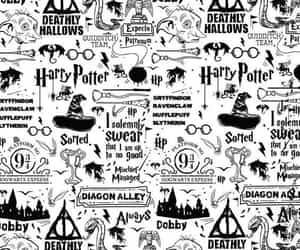 harry potter, always, and black and white image