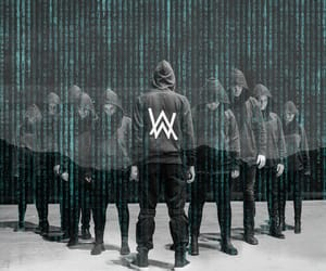 alan walker and alone image