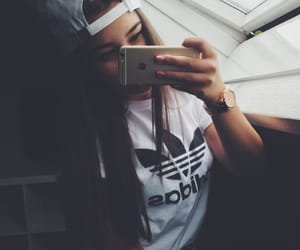 adidas, outfit, and cap image