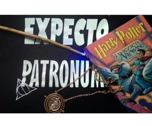 book, reading, and expecto patronum image
