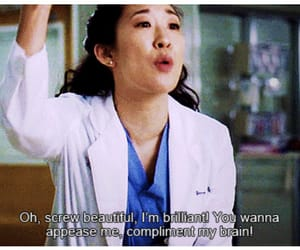 grey's anatomy, quotes, and brilliant image