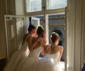 ballerina, ballet, and girls image