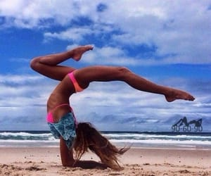 beach, fitness, and gym image
