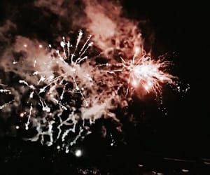 fireworks, theme, and light image