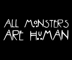 humans, american horror story, and monster image