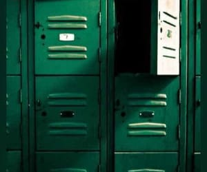 draco malfoy, locker room, and quidditch image