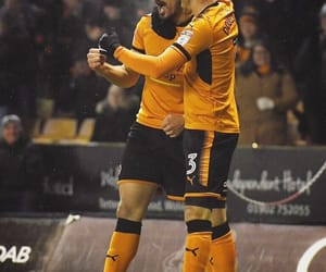football, soccer, and wolves image