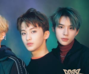 mark, nct, and jungwoo image